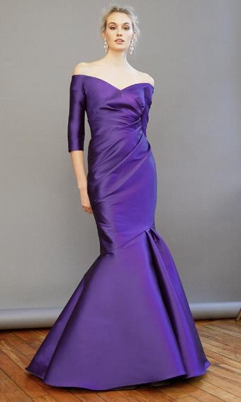 Frascara purple gown