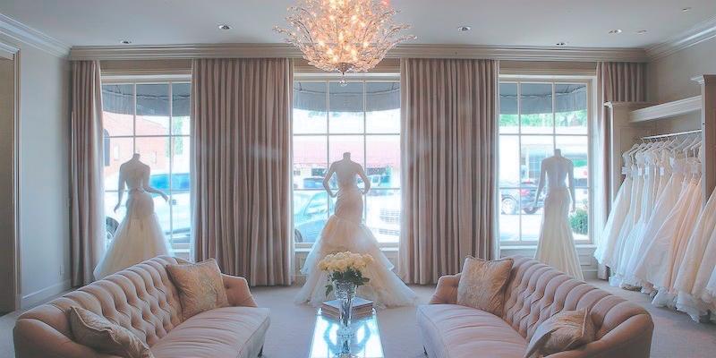 The White Room couture bridal boutique Birmingham