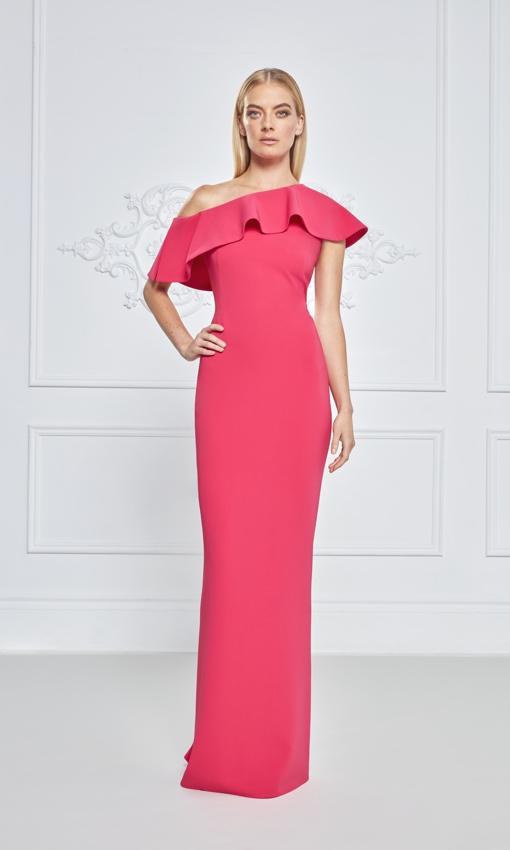 Frascara hot pink dress