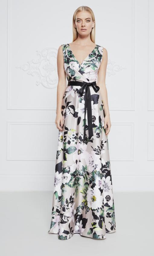 Frascara floral dress