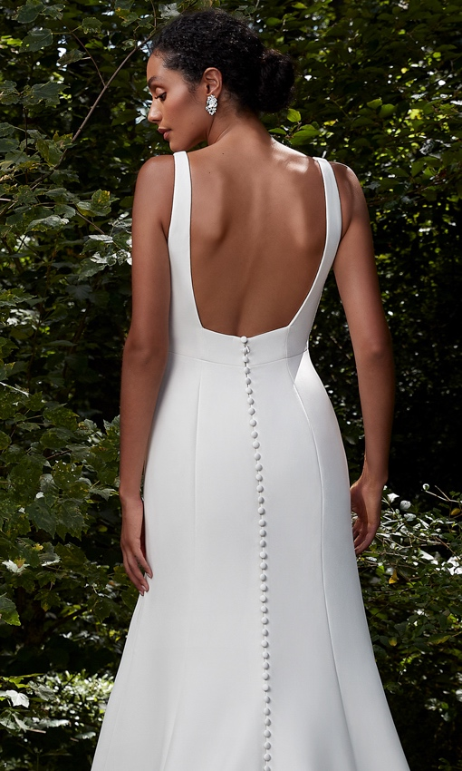 Anne Barge Square back wedding gown